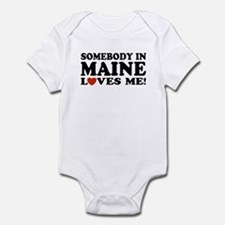 Somebody in Maine Loves Me Infant Creeper