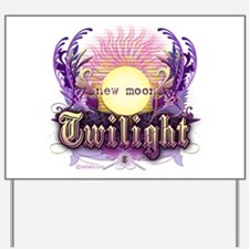 Twilight New Moon Violet Intrigue Yard Sign