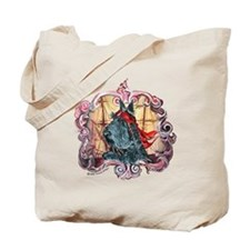 Scottie Pirate Tote Bag