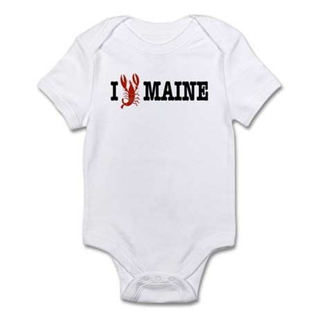 I Love Maine Infant Creeper