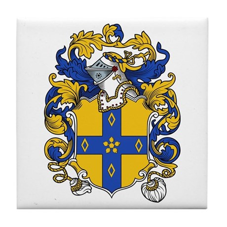 Haley Coat of Arms Tile Coaster