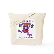 Dumbells Gym Tote Bag