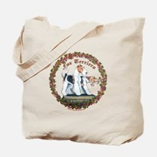 Fox Terrier Trouble Tote Bag