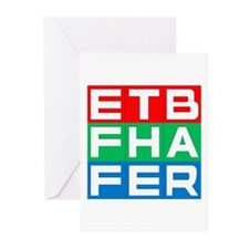EFF THE BAR Greeting Cards (Pk of 10)