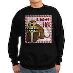 Valentine Dog Sweatshirt (dark)