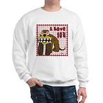 Valentine Dog Sweatshirt