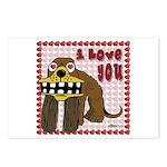 Valentine Dog Postcards (Package of 8)