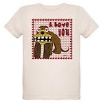 Valentine Dog Organic Kids T-Shirt