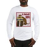 Valentine Dog Long Sleeve T-Shirt