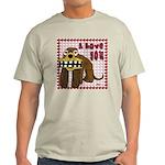 Valentine Dog Light T-Shirt