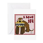 Valentine Dog Greeting Cards (Pk of 10)