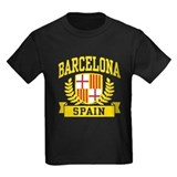 Barcelona Kids T-shirts (Dark)