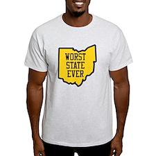 Worst State Ever (Ohio) T-Shirt