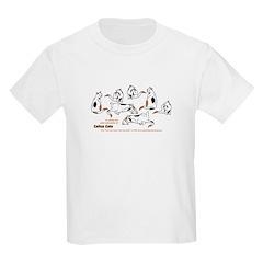 Calico Cats Kids Light T-Shirt