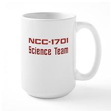 NCC-1701 Science (red) Mug
