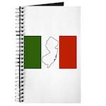 New Jersey Italian Flag Journal