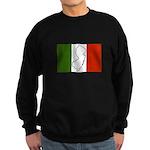 New Jersey Italian Flag Sweatshirt (dark)