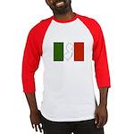 New Jersey Italian Flag Baseball Jersey
