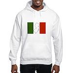 New Jersey Italian Flag Hooded Sweatshirt