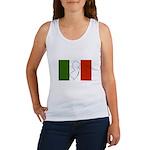 New Jersey Italian Flag Women's Tank Top