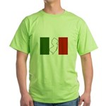 New Jersey Italian Flag Green T-Shirt