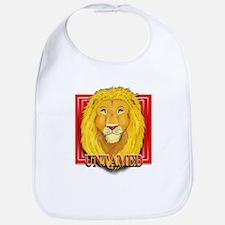 Untamed Lion Bib