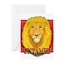 Untamed Lion Greeting Cards (Pk of 10)