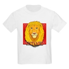 Untamed Lion Kids T-Shirt