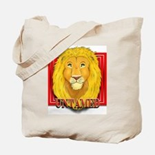 Untamed Lion Tote Bag