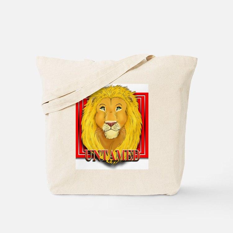 Untamed Lion Tote Bag