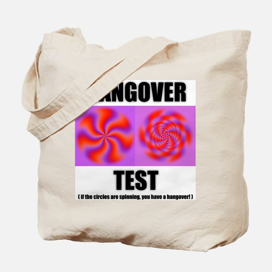 Hangover Test Tote Bag
