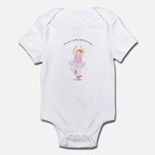 Practice Makes Perfect Pirouettes Infant Bodysuit