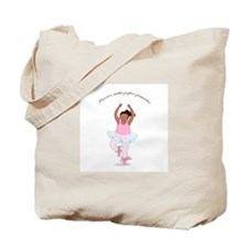 Practice Makes Perfect Pirouettes Tote Bag