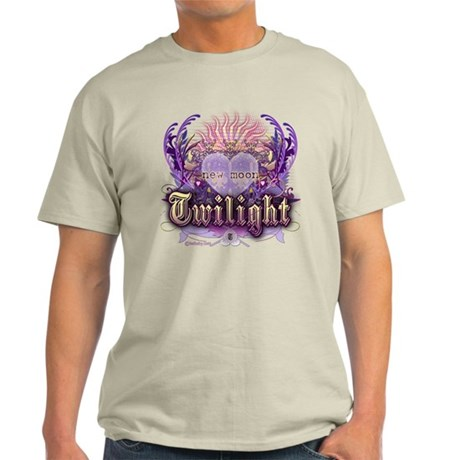 Twilight Violet Chantilly Heart Light T-Shirt