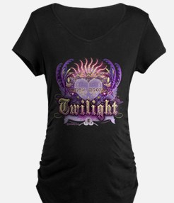 Twilight Violet Chantilly Heart T-Shirt