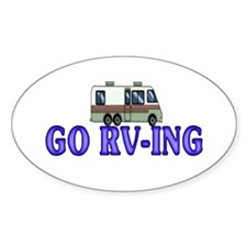 GO RV-ING Oval Decal