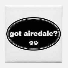 Got Airedale? Tile Coaster