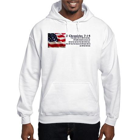 2 Chronicles 7:14 Hooded Sweatshirt