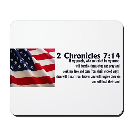 2 Chronicles 7:14 Mousepad