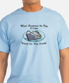 Happens On The Cruise T-Shirt