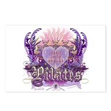 Pilates Chantilly Lace Postcards (Package of 8)