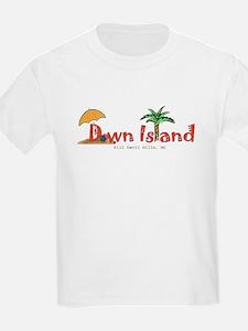 Down Island Wear Kids T-Shirt