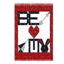 Valentine Quilt Postcards (Package of 8)