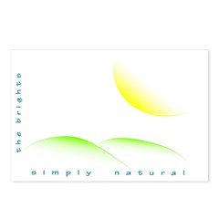 Simply Natural Postcards (Package of 8)