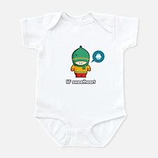 Sweetheart GRN-RED Infant Bodysuit