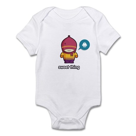Sweet Thing PNK-PUR Infant Bodysuit