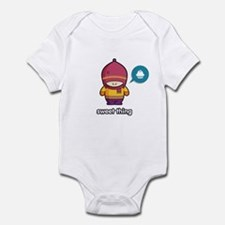 Sweet Thing PNK-PUR Infant Bodysuit