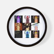 Cute Saraswati Wall Clock