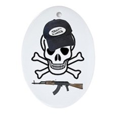AIRSOFT WARRIOR Oval Ornament