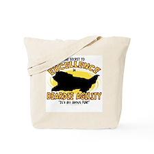 The Secret to Beardie Agility Tote Bag